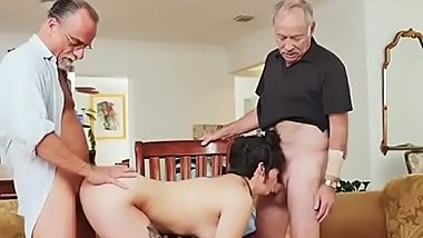 Teen Sydney Sky Has Old Men Screw Her For Money