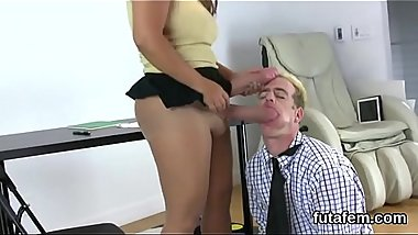 Sweeties drill fellows anal with massive strapon dildos and burst jizz