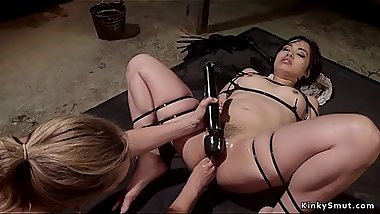 Asian deputy anal fucked by her boss