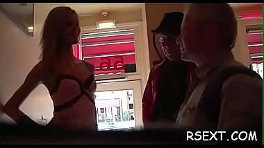 Horny grandad takes a tour in amsterdam&#039_s redlight district