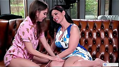 Step Mom confesses her deep feelings - Riley Reid and Mindi Mink