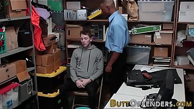 Raw fucked teen thief