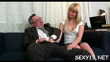 Wicked cuties are having lusty drilling with teacher