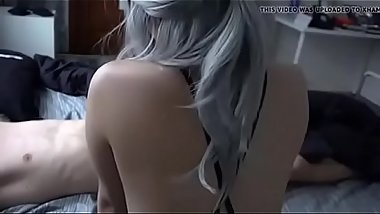 American Busty babe fucked by nasty delivery boy