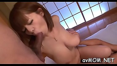 Young milf gets boned with fat dildo and a biggest cock to sucks
