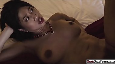 Asian Jade steals jewelry gets fucked