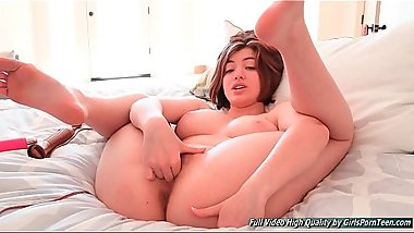 Cute ftv girls Aria hair fingering masturbating big toy