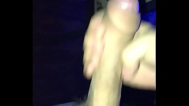 My virgin cock cumming