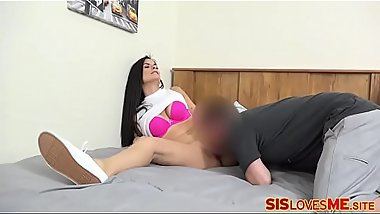 Roleplay With Orgasmic Step-Brother
