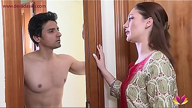 Landlady torments young tenant Niks Indian