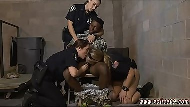 Milf caught masturbating and fucked Fake Soldier Gets Used as a Fuck