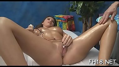 Wicked babe fucks and gives a hawt massage!