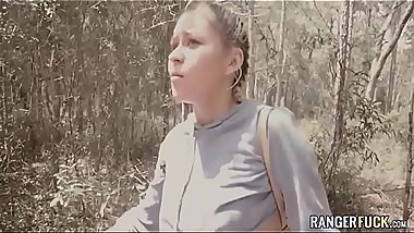 Teens In The Woods - Marsha May VS Lunatic Brick Danger