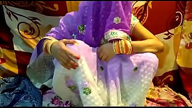 Indian bhabhi fucked in saree footjob sex