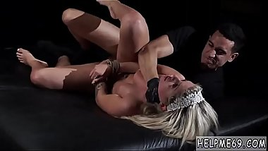 Teen gives blowjob at party Back in Bruno&#039_s dungeon, Madelyn Monroe&#039_s