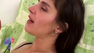 First amateur audition of the Italian milf
