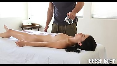 Massage with a pleased ending