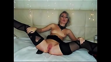 18 College Webcam POV LaLaCams.com Amazing Coed Playing Perfect Legs