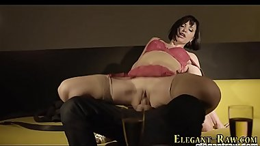 European slut gets anal