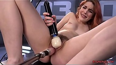 Armana Miller Plays With Kinky Sex Toys