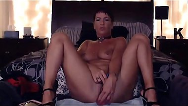 Sexy MILF Natasha Sparx with long legs and great ass