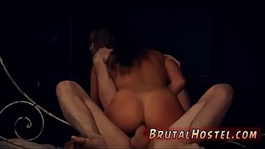 Rough gangbang amateur and the upper floor bondage Fed up with