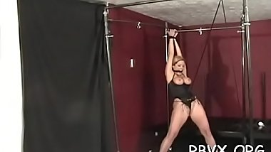 Petite girl becomes bounded serf in hot thraldom scene
