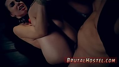 Slave gets brutal fucked Best buddies Aidra Fox and Kharlie Stone are