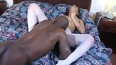 Busty black nurse Jazmine Cashmere getting pounded