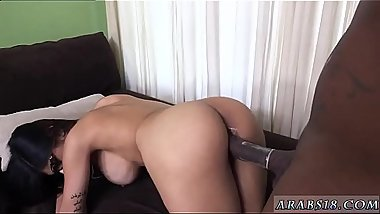 Arab girl big tits dancing Mia Khalifa Tries A Big Black Dick