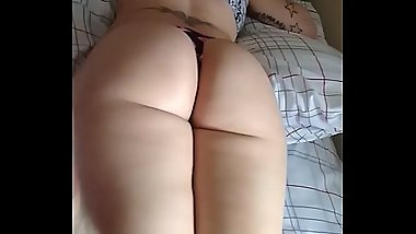 Playing with a Perfect ass before I fuck
