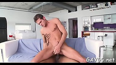 Cute little twink engulfing  a large monster cock