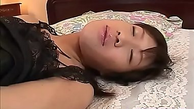Rico Kurusu moans while gently rubbing her pussy - More at hotajp com