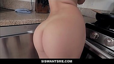Teen Step Sister Athena Faris Shows Off Perfect Body To Step Brother Fucked In Kitchen Cock Doesn&#039_t Fit