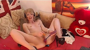 College Girl POV LaLaCams.com Horny Spanish American Toyplaying Hottest