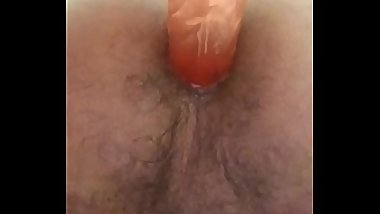 First time dildo
